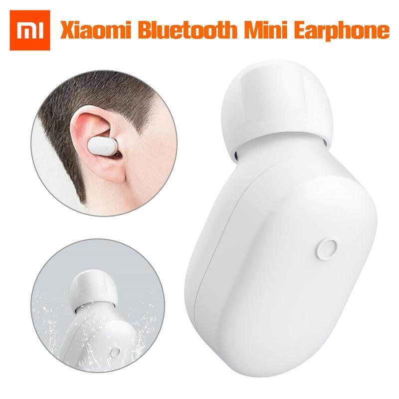 ยี่ห้อนี้ดีไหม  นครปฐม 【การจัดส่ง + ข้อเสนอฉับพลัน】Original Xiaomi บลูทูธมินิไร้สายหูฟังชนิดใส่ในหู IPX4 หูฟังไมโครโฟนในตัวใหม่
