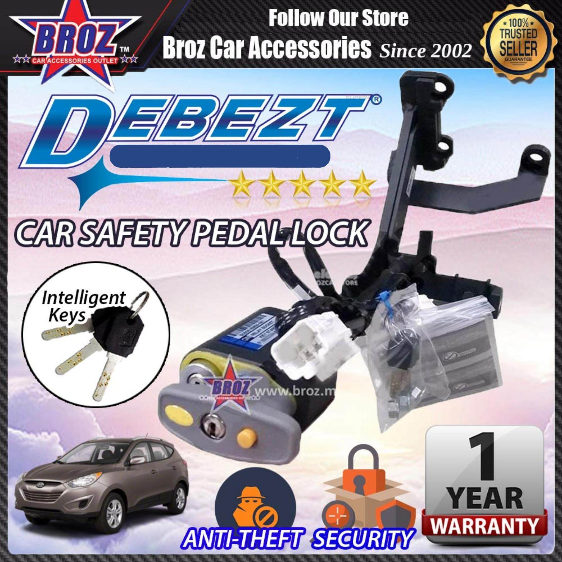 Tucson 2010-2015 Debezt Auto Key Start Anti Theft Double Pedal Lock