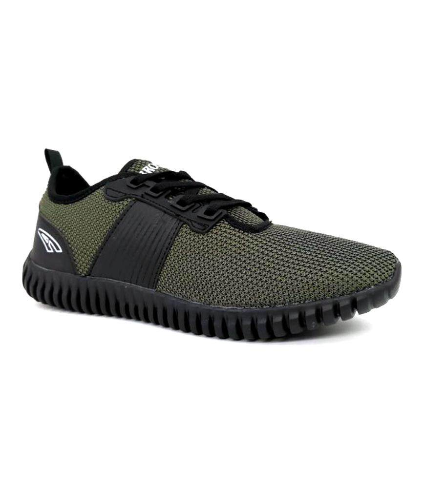 Ambros Men's Soldier Sneakers - Jungle Green/Black