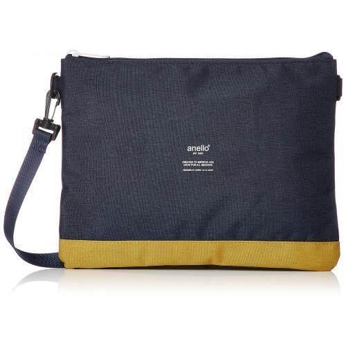 ยี่ห้อนี้ดีไหม  ภูเก็ต Anello Sakosshu กระเป๋าวัน AT-B1715 Navy/สีเหลือง