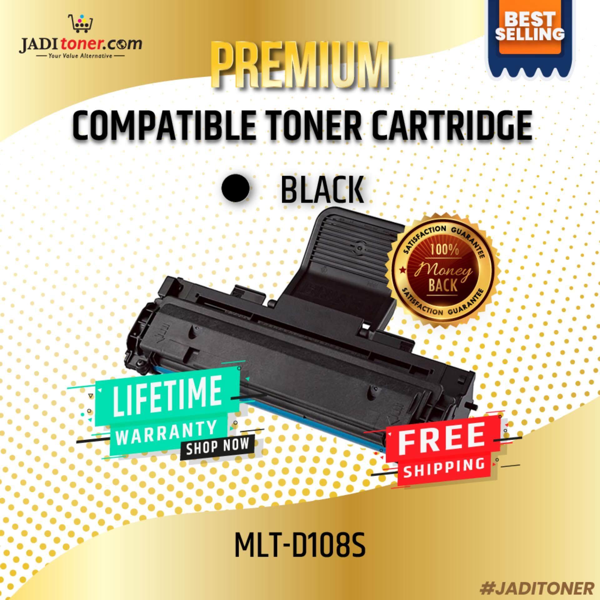 Compatible MLT-D108S Laser Toner Cartridge For Samsung ML-1640 / Samsung ML-1641 / Samsung ML-2240 / Samsung ML-2241 Samsung 108S MLT-108S MLT-D108 MLT-108 D108S MLTD108S Samsung ML1640 / Samsung ML1641 / Samsung ML2240 / Samsung ML2241