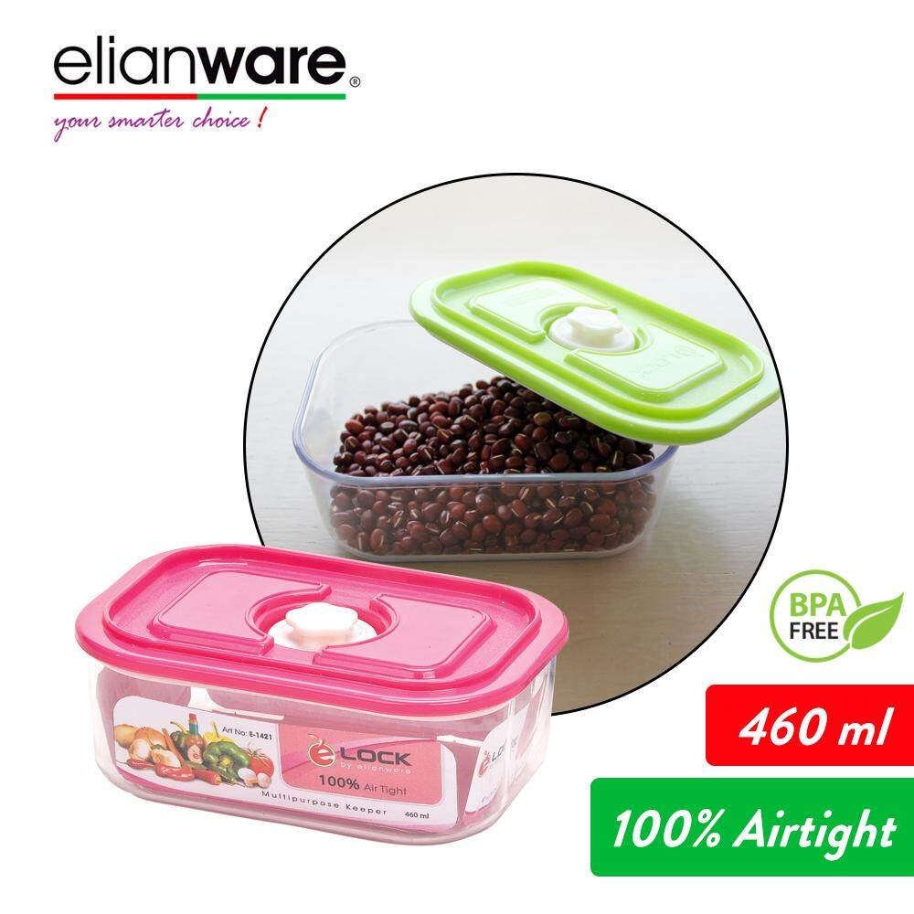 Elianware 1.36Ltr Airtight Glass Like Multipurpose Keeper (FREE 460ml Keeper) Food Storage OR 460ml Food Storage Container