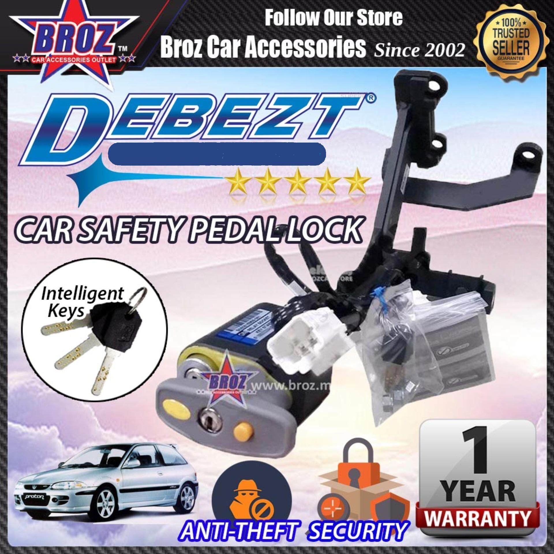 Satria Debezt Auto Key Start Anti Theft Double Pedal Lock