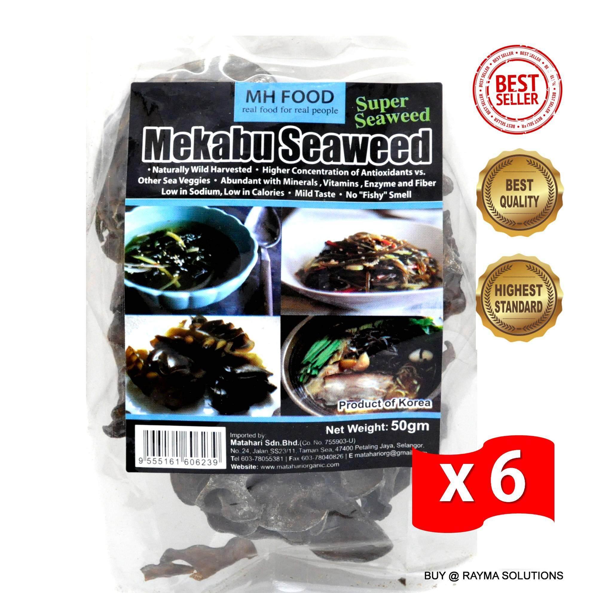 [Best Deal] MH FOOD Mekabu Seaweed Superfood 50g (6 Packs)