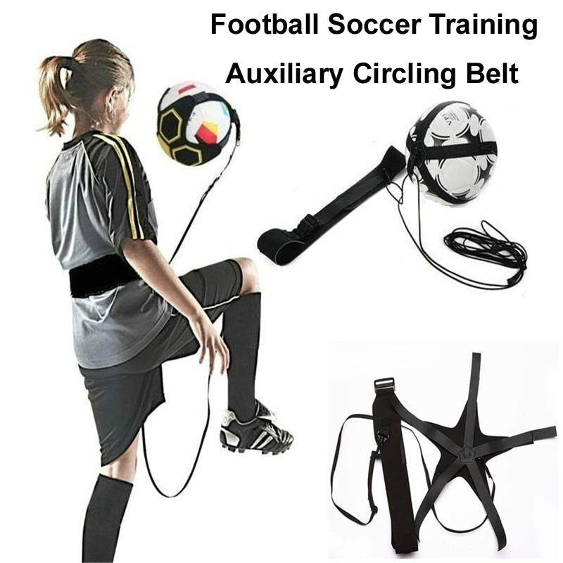 Football - Kids Soccer Football Training Equipment Auxiliary Circling Belt Elastic Rope - [STYLE 1 / STYLE 2]