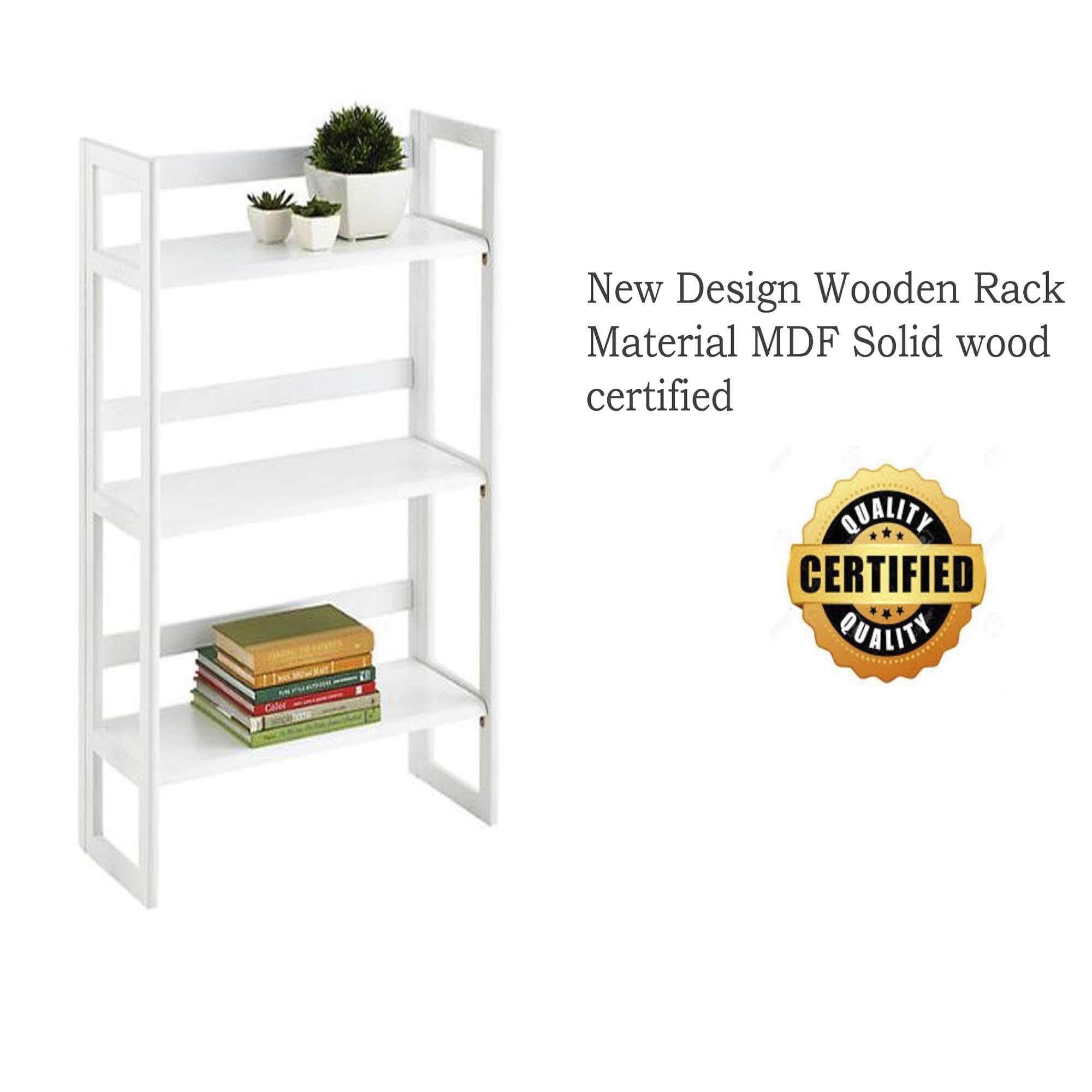 Bookshelf Folding Rack