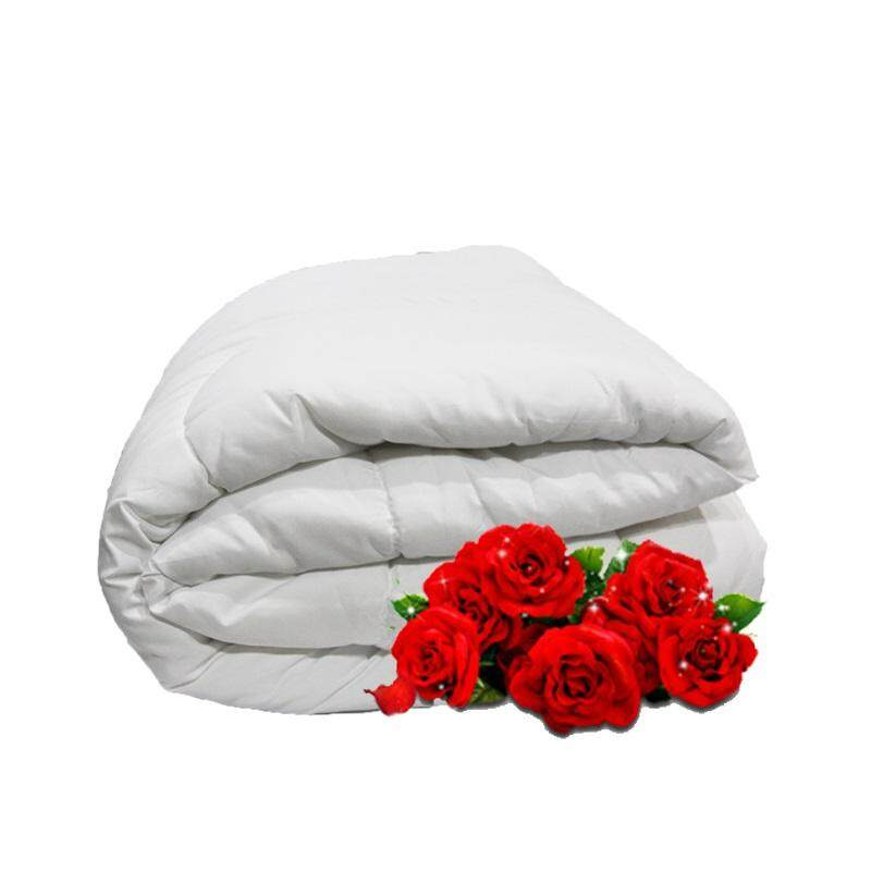 """Linen Series, Polyester Filled 165gm White Duvet Insert - Super Single 65""""x 85"""""""