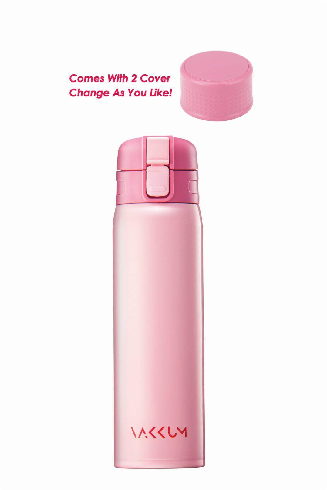 [LIVE][OASIS SWISS] ANTI-BACTERIAL VAKKUM  MADEL FLASK 500ml DOUBLE WALL S.S. PINK