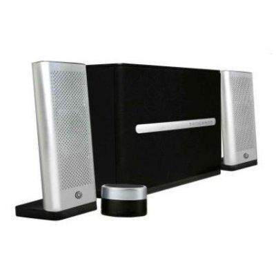 Sonic Gear SPACE 7 2.1 Speaker System with Subwoofer Bluetooth 4.2 Aux In Headphone Out MicroSD Master Volume Control