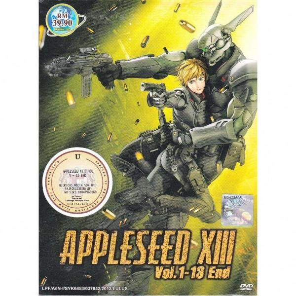 APPLESEED XIII OVA Vol.1-13End Anime DVD