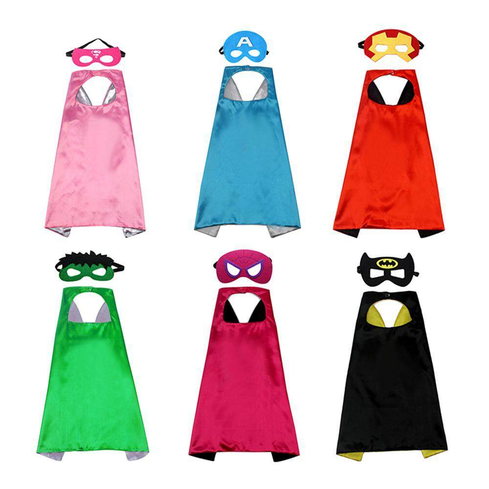 WithRitty Superhero Capes, Bulk Pack For Kids Party, DIY Dress Up Superhero  Costume, Superhero Masks Party Favors For Children