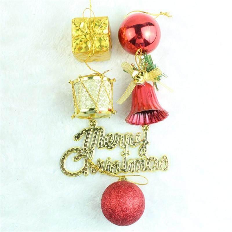32PCS 4CM CHRISTMAS BALL BELL CHRISTMAS TREE DECORATED
