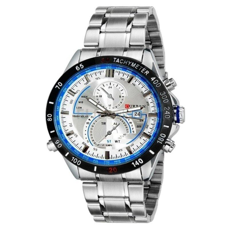 (100% Authentic) Curren Mens Stainless Steel Strap Watch 8149 (Japan Movement 7T35) Malaysia