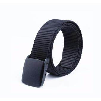 130cm Automatic Buckle Nylon Belt Male Army Tactical Belt Men's Military Waist Canvas Belts High Quality