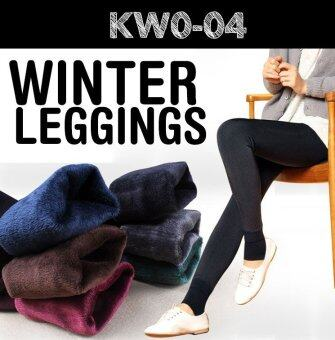 Harga 2016 Women Winter Leggings / keep warm/ inner wear/ Women pants /Plus size - GREY