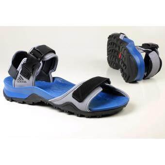 2017 Adidas Cyprex Blue Base Men Sandal