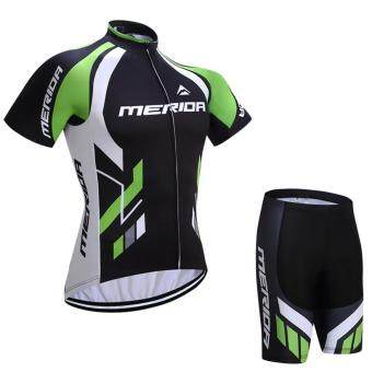 Harga 2017 MERIDA team Cycling Jersey Cycling clothing BreathableMountain Bike Clothes / Summer White Quick Dry Bicycle SportswearX7-04