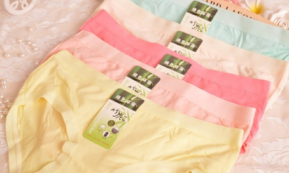 20x FREE SIZE Super Stretchable Soft Bamboo Anti-odour Panties Underwear - 100% Lowest in Malaysia - FREE SHIPPING- Clearance Below Cost