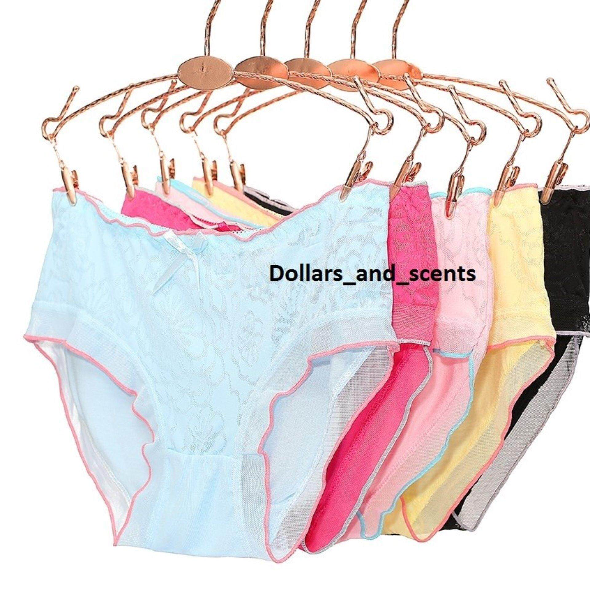 20x Stretchable Organic Cotton Anti Odour Lace Panties - Clearance SALE Below cost