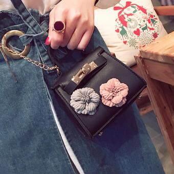 ... 360WISH Kids New Korean Style Flower Mini Kelly Bag Handbag Chain Pack  Crossbody Bag For Girl ... 22e3e00165