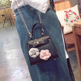 360WISH Kids New Korean Style Flower Mini Kelly Bag Handbag Chain Pack  Crossbody Bag For Girl ... db0c3e75d4