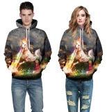 ราคา 3D ผู้ชายสัตว์แฟชั่นลำลองเสื้อกันหนาว สี หลัก Pic นานาชาติ เป็นต้นฉบับ