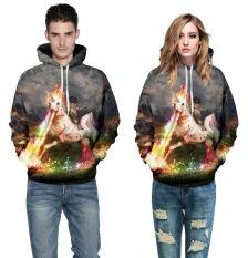 ราคา 3D ผู้ชายสัตว์แฟชั่นลำลองเสื้อกันหนาว สี หลัก Pic นานาชาติ ใหม่ ถูก
