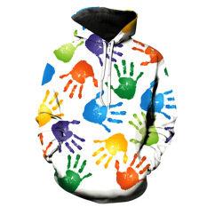 ซื้อ 3D Men S Unisex Fashion Digital Print Casual Hooded Sweaters Color First Pic ถูก ใน จีน