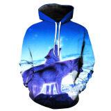 ซื้อ 3D Men S Unisex Fashion Digital Print Casual Hooded Sweaters Color First Pic