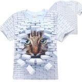 ซื้อ 3D Miyaki Boy Teen S 5 16 Yrs Old 115 165Cm Body Height Cotton T Shirts Color Main Pic ออนไลน์