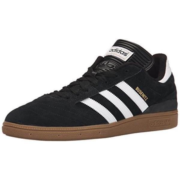 adidas Mens BUSENITZ Shoe, core black, ftwr white, gold met., US B005GC0MS2 - intl