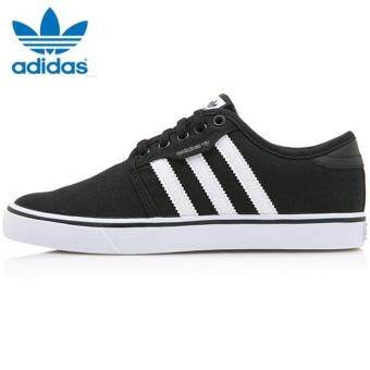 Adidas Originals Unisex Skateboarding Seeley Sneakers F37427Black/White