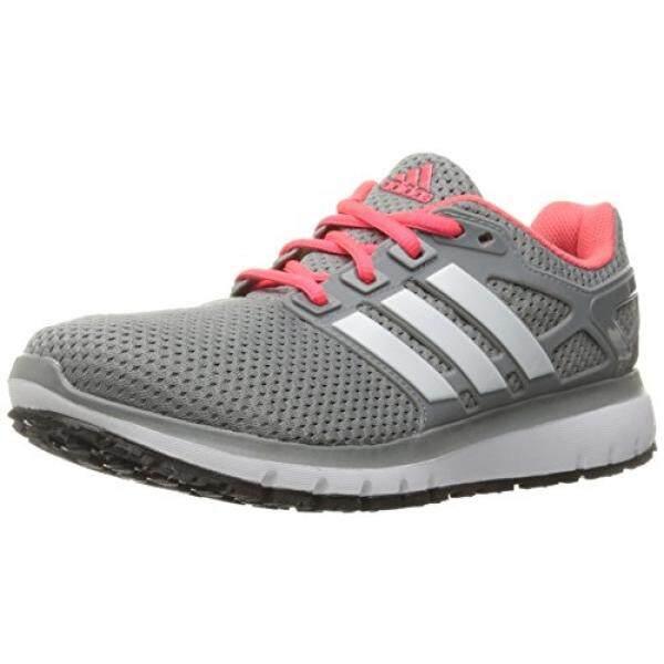 Adidas Performa Wanita Energi Awan Wtc W Lari Shoe, Grey/Putih/CH Polos Grey, 9 M Kami-Internasional