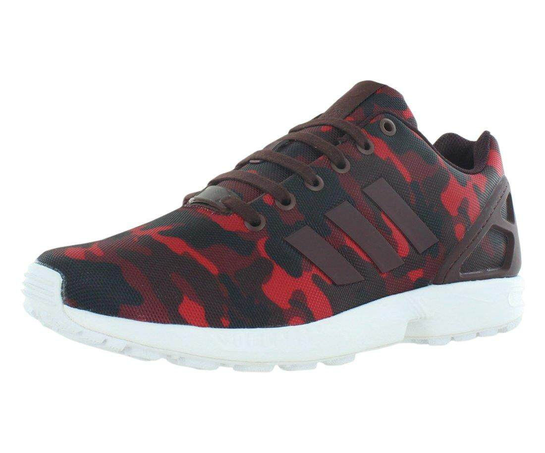Adidas Zx Flux Men's Running Shoes Size US 10.5, Regular Width, Color Red/Camouflage - intl