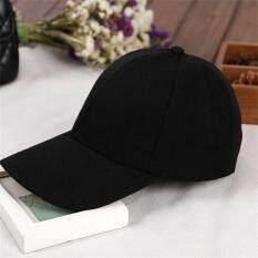 Spesifikasi Allwin Murni Melengkung Dapat Disesuaikan Tampan Topi Baseball Aku Topi Hitam Kedok Polos Ruang Merk Oem