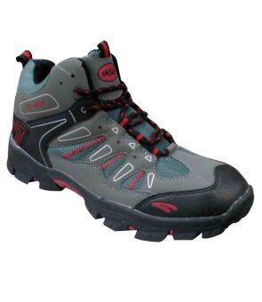 AMBROS Pro Hiker Hiking Shoes - GREY/BLACK