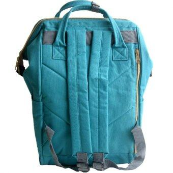 Anello Authentic Anello Japan Imported Canvas Unisex IndigoBackpack - 2