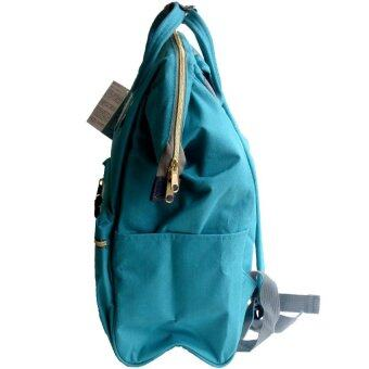 Anello Authentic Anello Japan Imported Canvas Unisex IndigoBackpack - 3