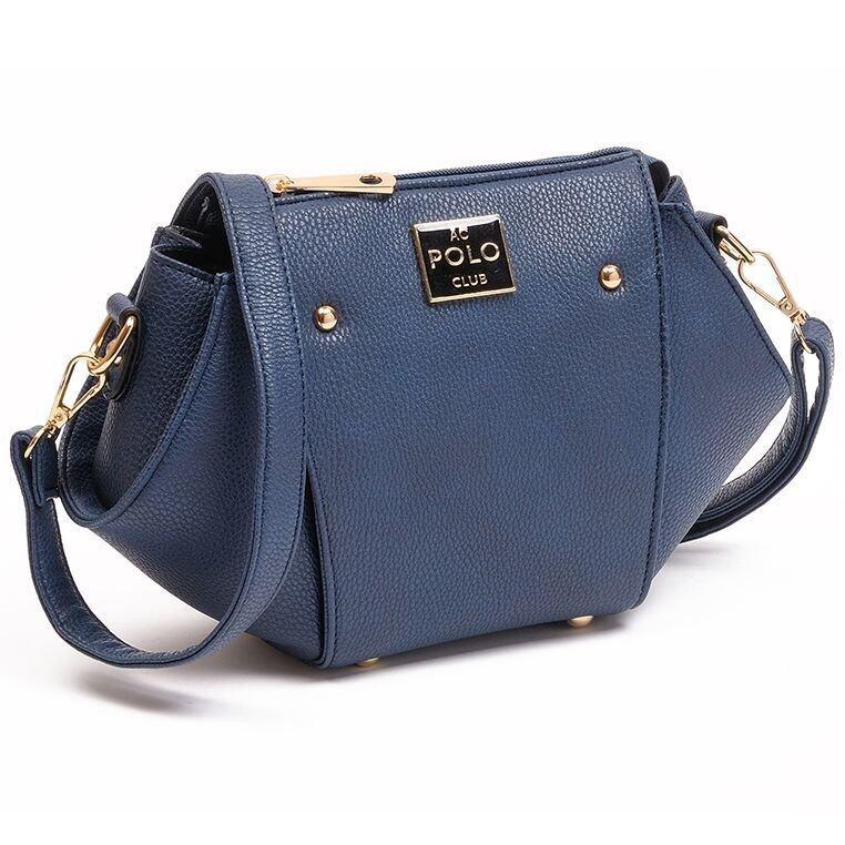 Angel Court Polo ACP67-1763 Sling Bag - Dark Blue
