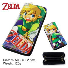 Anime Men S Youth Poly Urethane Fashion Wallet Color First Pic ใน จีน