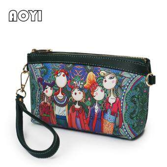 AOYI 2017 New Fashion Forest Style PU Leather Single Shoulder BagCrossbody Bag Handbag Women Bag