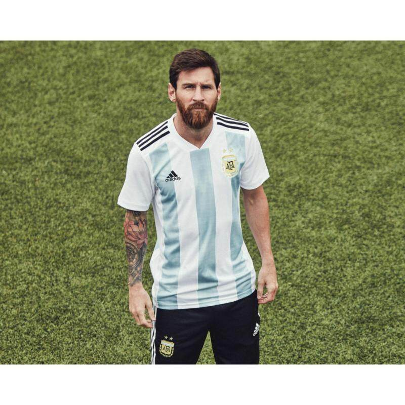 Argentina National Team 2018 World Cup Home Football Jersey Malaysia