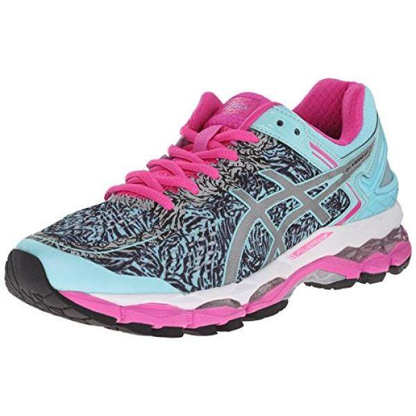 ASICS Womens Gel Kayano ite Show Running Shoe, Aqua Splash/Silver/Pink Glow, US - intl