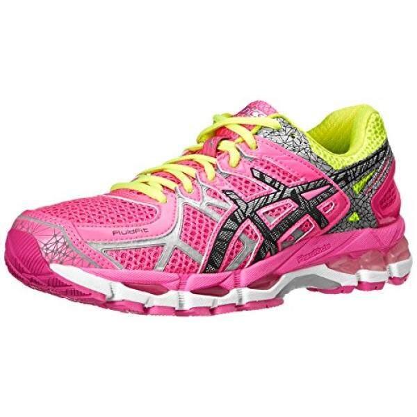 ASICS Womens Gel-Kayano ite-Show Running Shoe,Hot Pink/Lite/Safety Yellow, US - intl