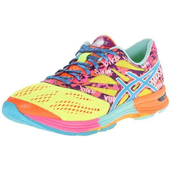 ASICS Womens Gel-Noosa Tri¿ 10 Flash Yellow/TURQ/Flash Pink 7.5 B - - intl