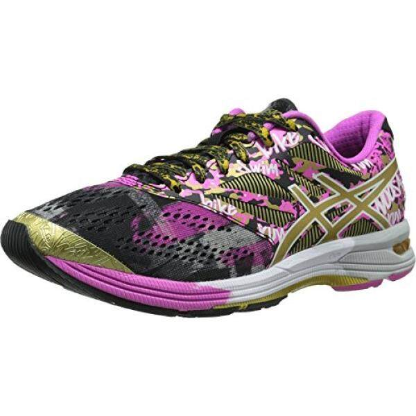 ASICS Womens Gel-Noosa TRI 10 Gr Running Shoe, Black/Gold/Gold Ribbon, US - intl
