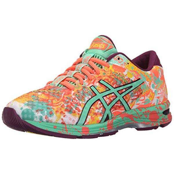 ASICS Womens Gel-Noosa Tri 11 Running Shoe, Flash Coral/Spring Bud/Sun, US - intl