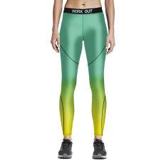 ราคา Athletic Sport Running Gym Bodybuilding Fitness Workout Training Leggings Yoga Pant Color First Pic ใหม่