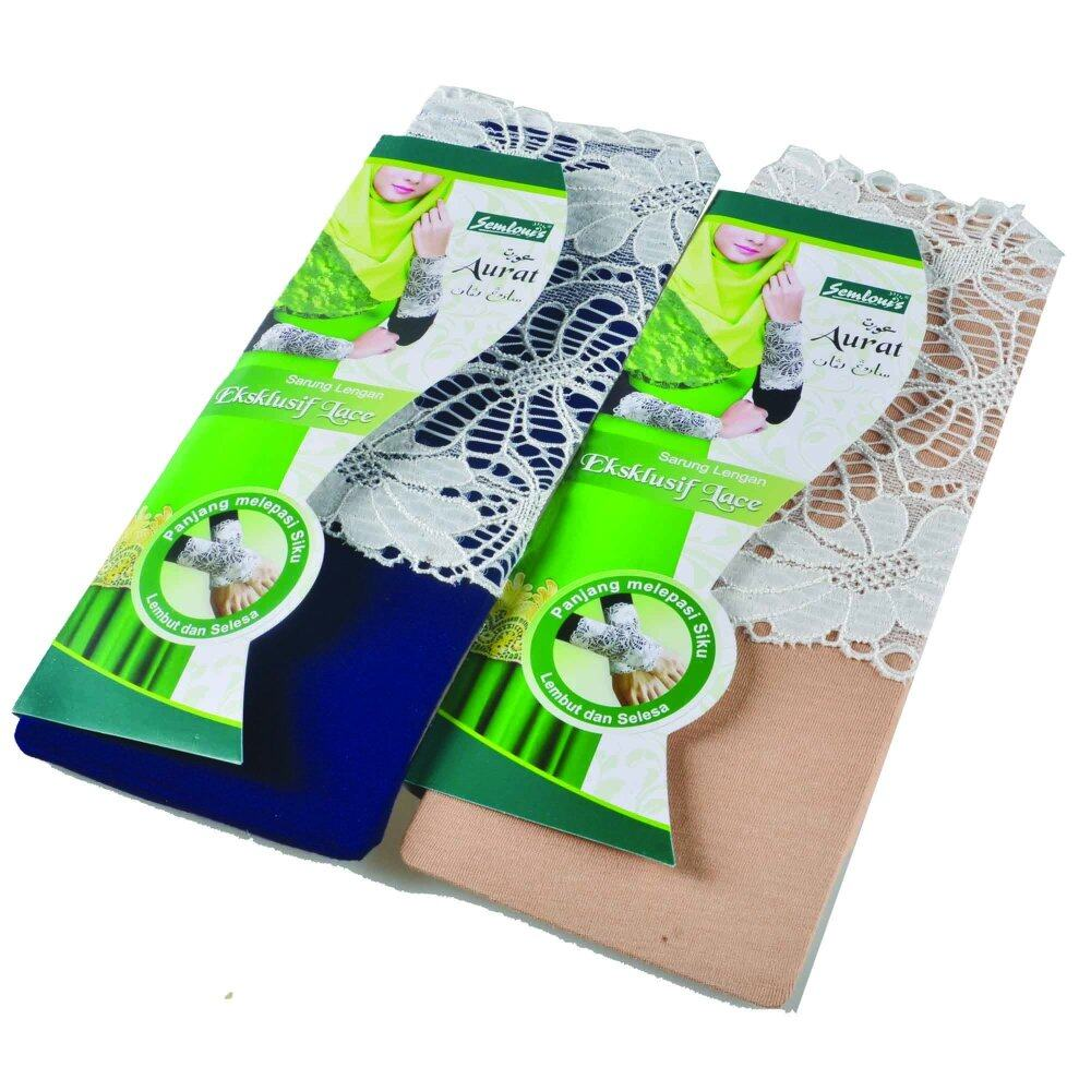 Aurat Handsock with Exclusive White Lace 2 in 1 (Mix) Blue & Skin colours