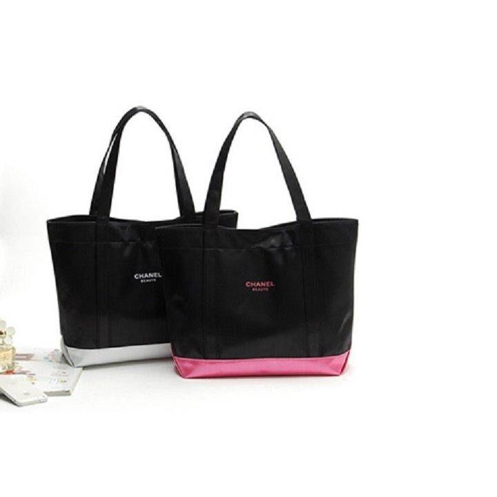 8fa9e2f4da43 Authentic Chanel VIP Beaute Tote Bag- 2 Colors